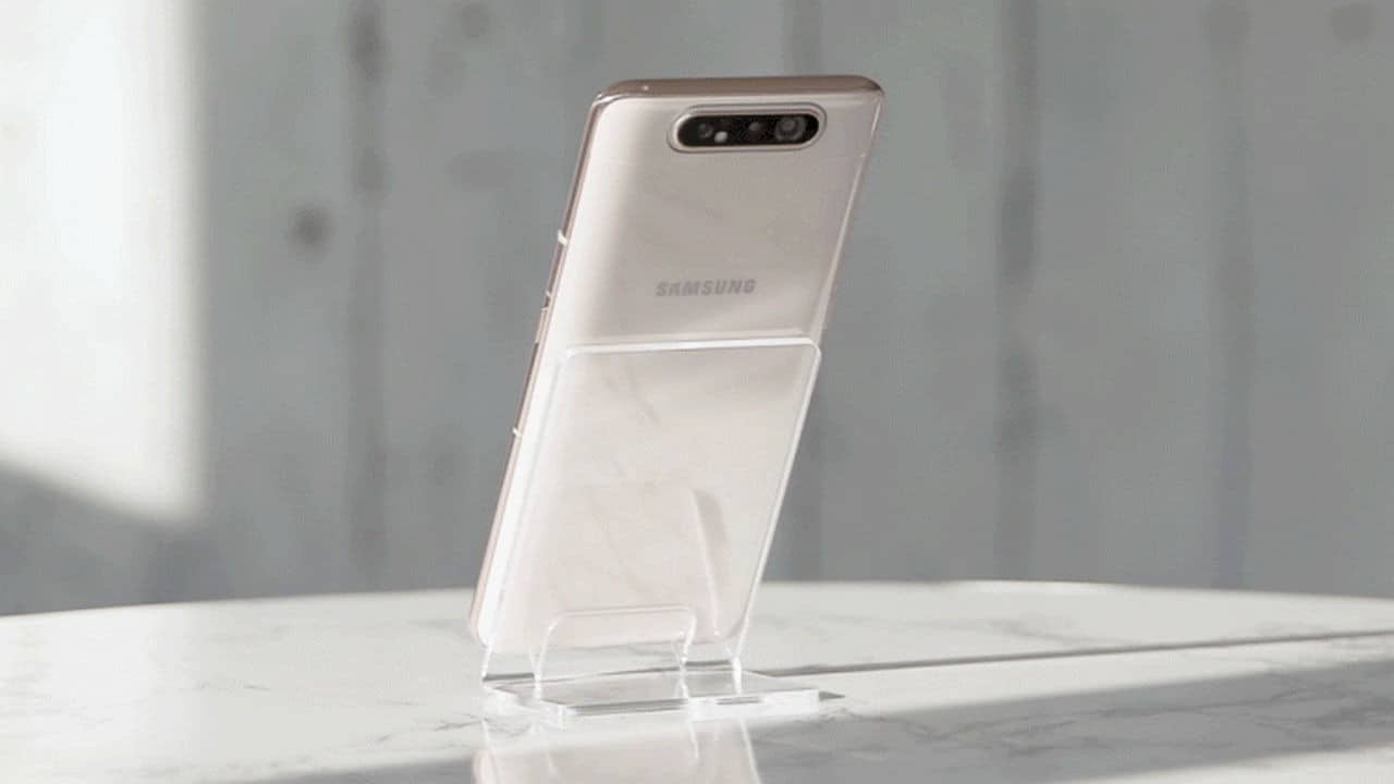 Samsung Galaxy A80 Display