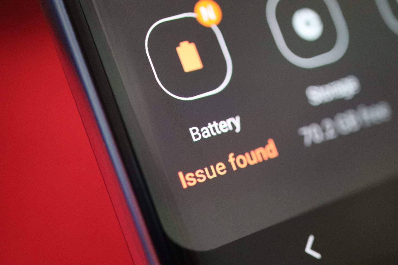 Galaxy S10 Plus battery