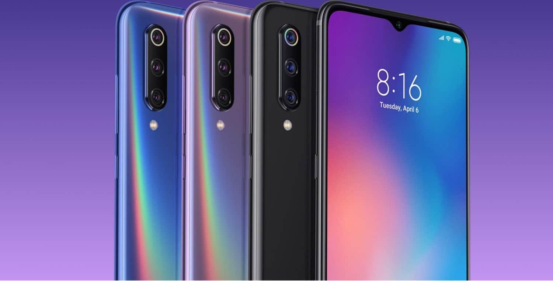 Xiaomi Mi 9 design and screen